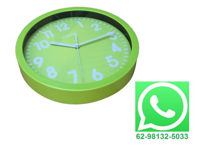 Relógio De Parede Estilo Moderno 25 cm x 25 cm - 1/2