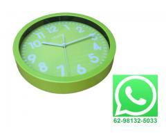 Relógio De Parede Estilo Moderno 25 cm x 25 cm