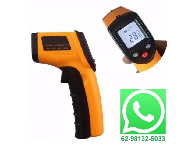 Termômetro Laser Digital Infravermelho infra-red -50° a 380°C - 1/4
