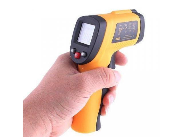 Termômetro Laser Digital Infravermelho infra-red -50° a 380°C - 2/4