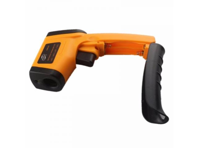 Termômetro Laser Digital Infravermelho infra-red -50° a 380°C - 3/4