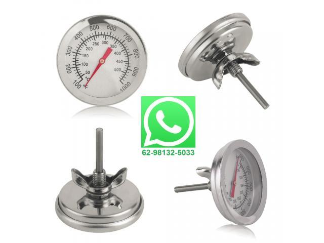 Termômetro Analógico com Haste 50º C a 500ºC - 1/3