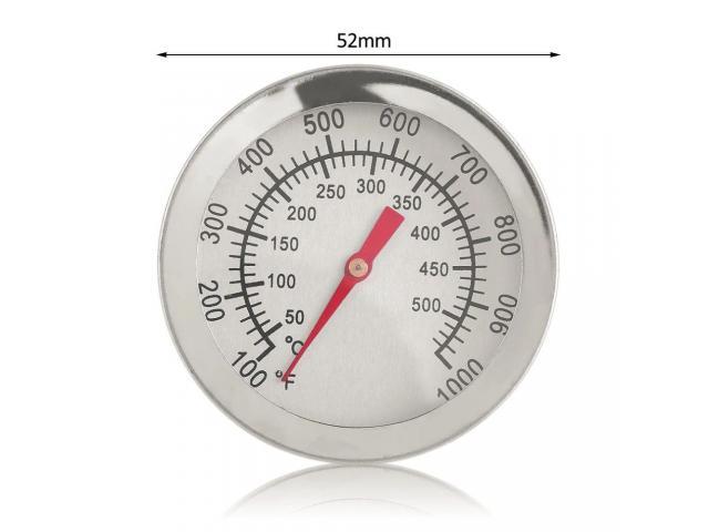 Termômetro Analógico com Haste 50º C a 500ºC - 2/3