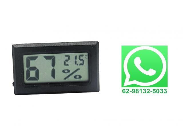 Termômetro Higrômetro Termohigrometro Digital - 1/2