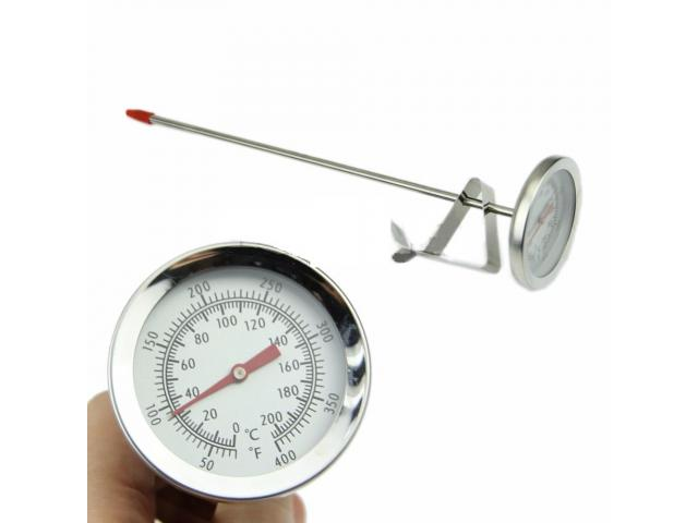 Termômetro Culinário Chef Analógico Clip com Haste de 20cm - 2/4