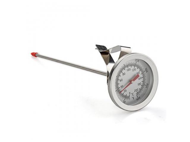 Termômetro Culinário Chef Analógico Clip com Haste de 20cm - 3/4