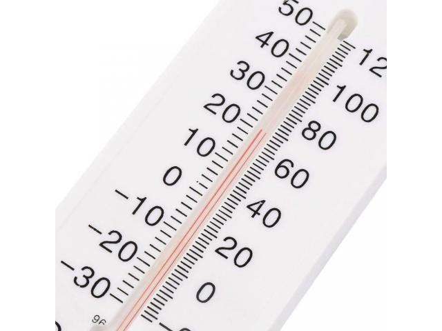 Termometro de parede, termo higrômetro, temperatura e umidade simultaneamente - 3/4