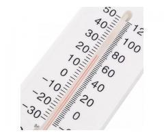 Termometro de parede, termo higrômetro, temperatura e umidade simultaneamente