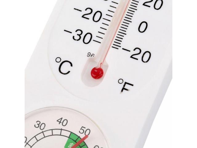 Termometro de parede, termo higrômetro, temperatura e umidade simultaneamente - 4/4