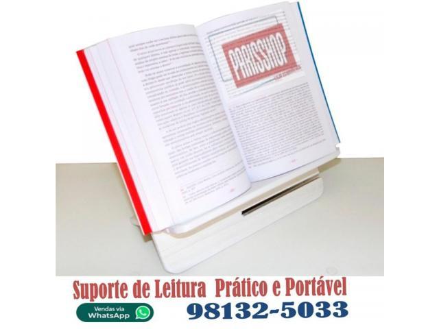 Suporte de Livros para Leitura - Suporte Vade Mecum Concurso Concurseiros - 4/5