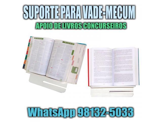 Suporte de Livros para Leitura - Suporte Vade Mecum Concurso Concurseiros - 5/5