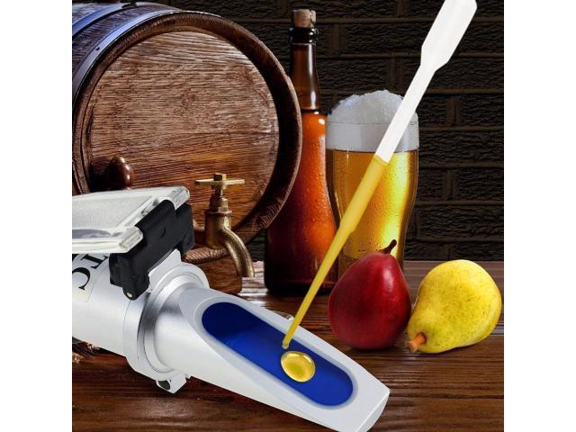 Refratômetro Brix/SG Fabricar Cerveja Caseira - Cervejeiro - 1/3