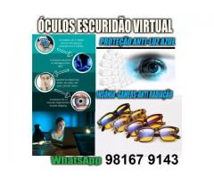Óculos Contra Insônia - Escuridão virtual - Blue Ray Blocker - Escuridão Virtual
