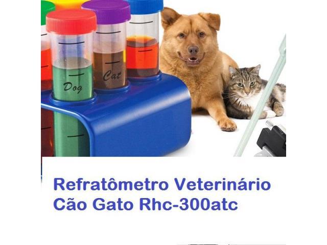 Refratômetro Veterinário Cães & Gatos Análise Urina na hora - 3/5