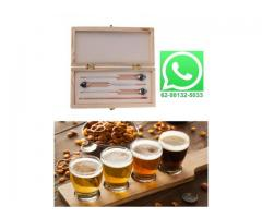 Densímetro Medidor Teor Álcool Alcoólico Alcoômetro Termômetro - Fazendo Cerveja em Casa