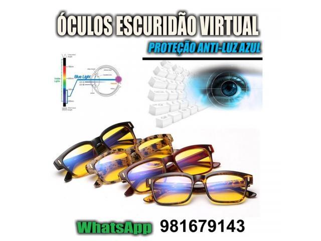 Óculos Contra Insônia - Escuridão virtual - Blue Ray Blocker - Escuridão Virtual - 3/3