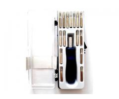 Chave de Precisão com 15 Ponteiras - Celular, Relógio, etc
