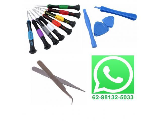 Chave de Precisão Manutenção Celular,Iphone,Samsung,Motorola,Macbook - Jogo 16 peças - 1/3