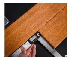 Copiador Transferidor Goniômetro Digital Régua de  Inox Medidor De Ângulo 200mm - Imagem 4/6