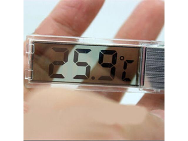 Termômetro Transparente Para Aquário 3D - 2/3