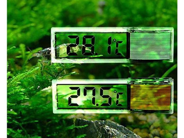 Termômetro Transparente Para Aquário 3D - 3/3