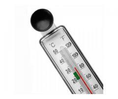 Termômetro Com Ventosa Para Aquário