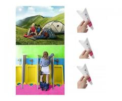 Urinol Feminino mictório ao ar livre xixi em pé viagem de acampamento portátil kit c/3pçs - Imagem 5/6