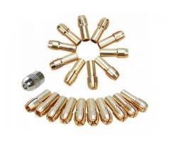 Pinça para Micro Retífica Microretífica - Kit com 10 Pinças - Imagem 1/5