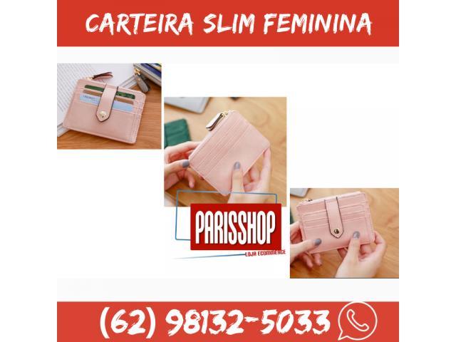 Carteira Case Porta Cartão Crédito Fina Slim Com Porta Moedas - 1/5