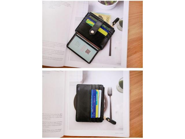 Carteira Case Porta Cartão Crédito Fina Slim Com Porta Moedas - 3/5