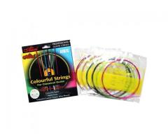 Jogo de Corda Coloridas de Nylon para Violão - Cordas Coloridas - Imagem 3/3
