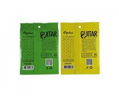 Jogo de Cordas de Aço para Guitarra e Violão - Jg de Corda