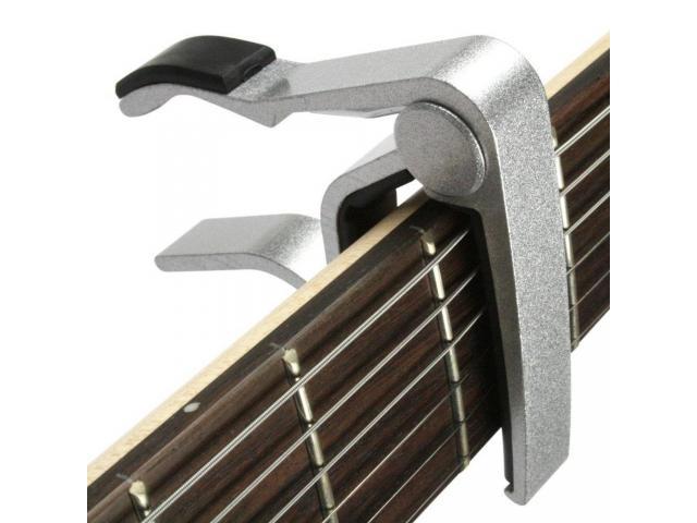 Capotraste Braçadeira de Alumínio para Instrumento Violão Guitarra - 2/3