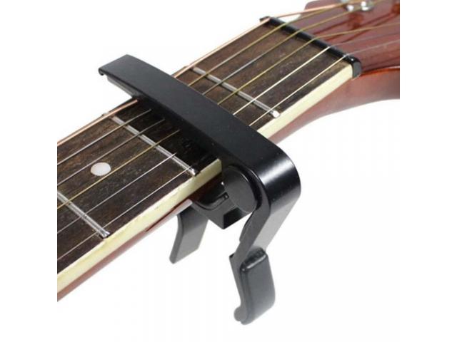 Capotraste Braçadeira de Alumínio para Instrumento Violão Guitarra - 3/3