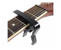 Capotraste Braçadeira de Alumínio para Instrumento Violão Guitarra - Imagem 3/3