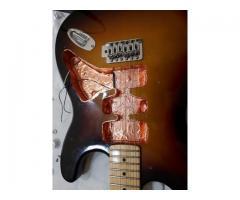Fita de Cobre Adesiva para Blindagem Anti Ruído Instrumentos Baixo Elétrico, Guitarra