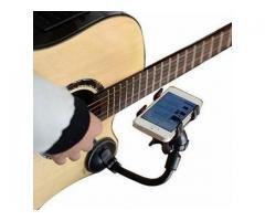 Suporte de Smartphone Celular para Violão - Para Tocar Cifras Diretamente do Celular
