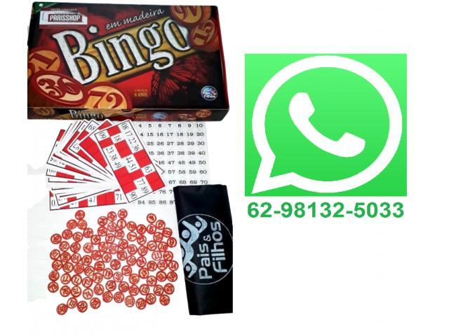Jogo de Bingo - 1/3