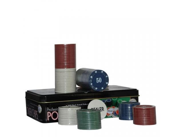 Fichas de Poker - Jogo de Poker 100 Fichas - 2/3