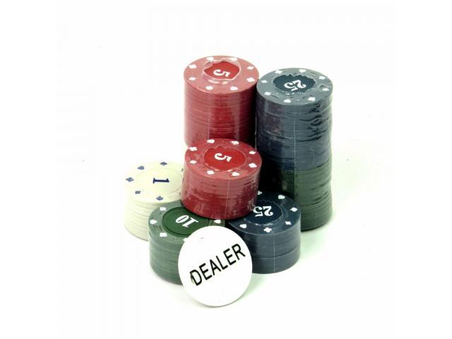 Fichas de Poker - Jogo de Poker 100 Fichas - 3/3