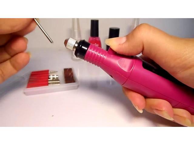 Lixa para Unha Acrigel Gel Porcelana Manicure - 4/4
