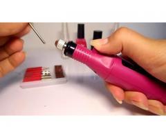 Lixa para Unha Acrigel Gel Porcelana Manicure - Imagem 4/4