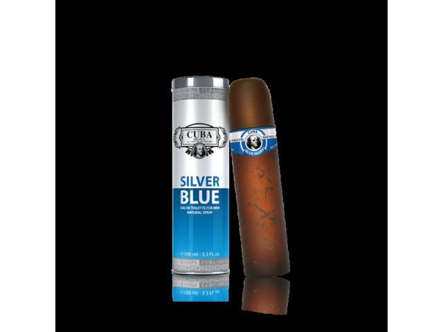Perfume Cuba Masculino 100mls: Silver Blue, Gold e Winner - 1/3