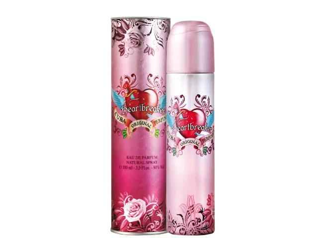 Perfume Cuba Feminino 100mls - Heartbreaker, Zebra, Tiger - 1/3