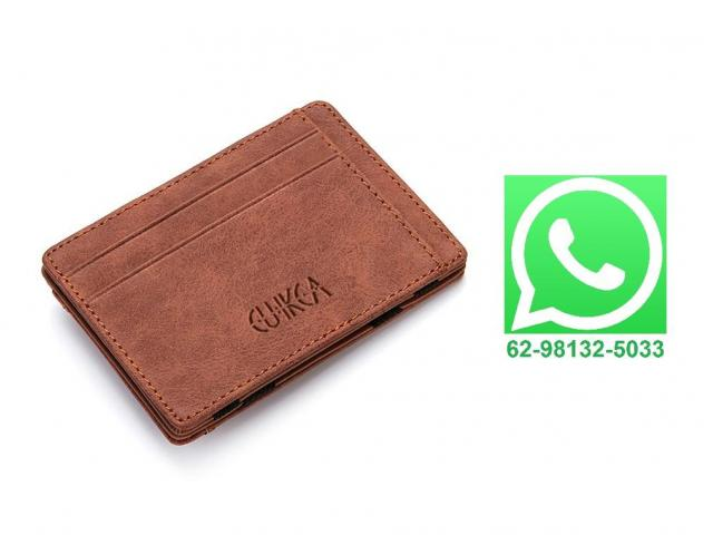Carteira Case Porta Cartão Crédito Fina Slim Com Porta Moedas - 1/3