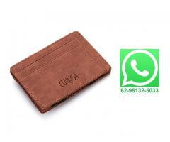 Carteira Case Porta Cartão Crédito Fina Slim Com Porta Moedas