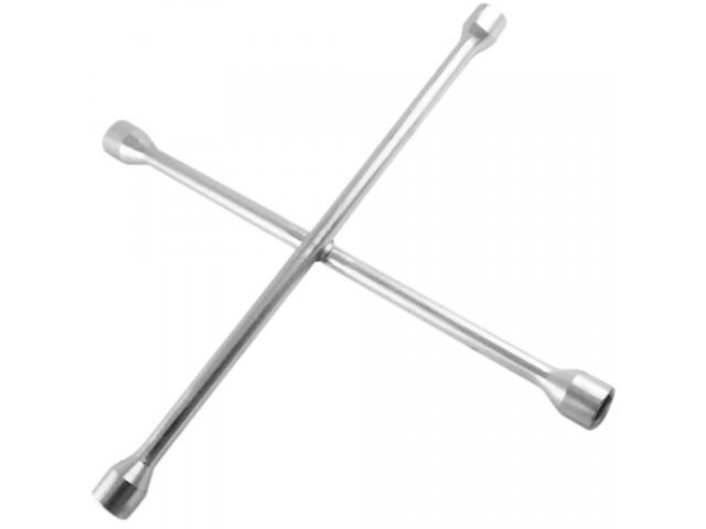 Chave de Roda 35cm - 17 mm, 19 mm e 21 mm 23 mm + Encaixe para Soquete - 1/1