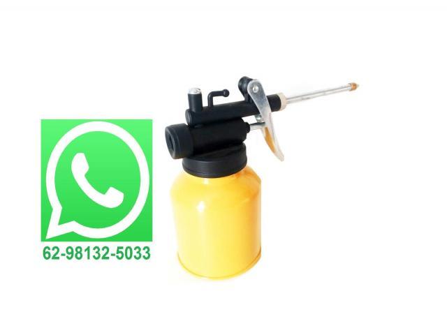 Engraxadeira Mini Bomba de Graxa Manual 250ml - 1/2