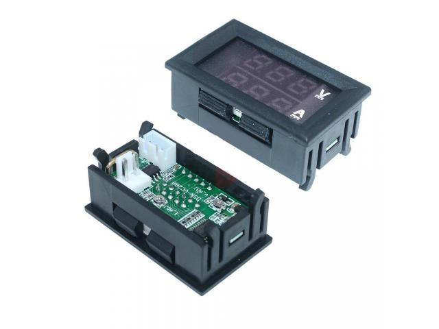 Voltímetro Amperímetro Monitor de Bateria Som Automotivo - 3/3