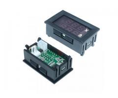 Voltímetro Amperímetro Monitor de Bateria Som Automotivo - Imagem 3/3